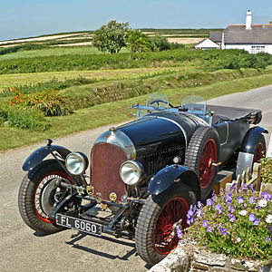 Bentley 3 Litre - Red label Speed 4-seater tourer 1927