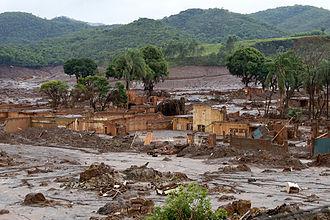 Tailings dam - Bento Rodrigues dam disaster, 2015