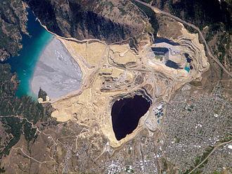 Berkeley Pit - Image: Berkeley Pit Butte, Montana