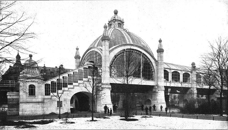 Datei:Berlin, Schoeneberg, Nollendorfplatz, U-Bahnhof, 1903.jpg