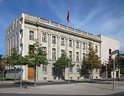 Berlin, Tiergarten, Otto-von-Bismarck-Allee, Botschaft Schweiz.jpg