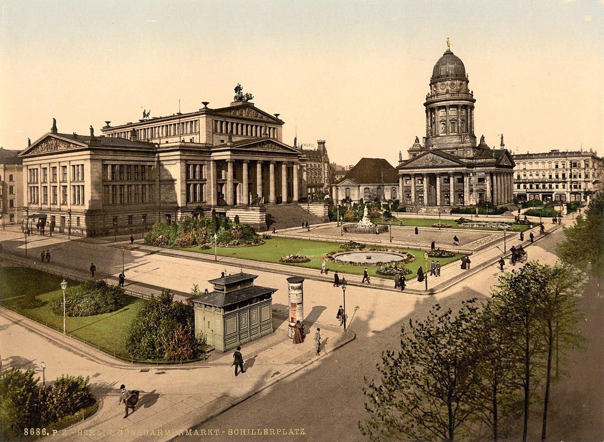 Berlin - Gendarmenmarkt 1900