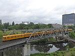 Berlin U-bahn line 1 at Landwehrkanal.jpg