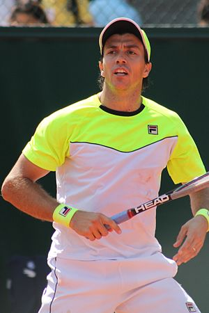 Carlos Berlocq - Berlocq at the 2015 French Open