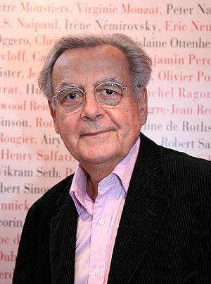 Bernard Pivot - Bernard Pivot at a book fair in Paris, France, in March 2009