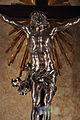 Bernardo holzmann su dis. del foggini, croce, 1723-26, legno e argento 03.JPG