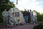Beuzeville Au Plain C47 Crash Site Memorial for 101st Air Assault 150603-A-DI144-145.jpg