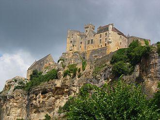 Dordogne - Image: Beynac chateau 1
