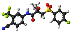 Bicalutamide 3D ball.png