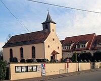 Bietlenheim, Temple protestant, ancienne chapelle Saint-Arbogast 1.jpg