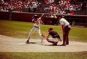 Bill Buckner - Buckner bats at Wrigley Field on June 11, 1981