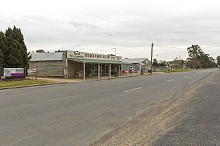 Walbundrie Town in New South Wales, Australia