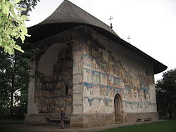 The painted church of Arbore
