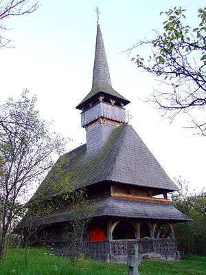 Wooden churches of Maramureș - Church of the Presentation of the Virgin in the Temple, in Bârsana
