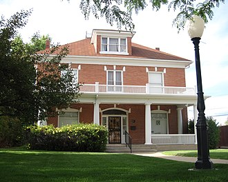 National Register of Historic Places listings in Natrona County, Wyoming - Image: Bishop House (Casper, Wyoming) 2