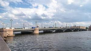 Annunciation Bridge - Image: Blagoveschensky Bridge SPB