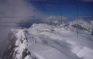 Übergossene Alm glacier