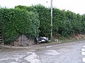 Bloody Corner with rubbish - geograph.org.uk - 1380968.jpg
