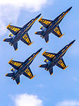Blue Angels in diamond formation.jpg