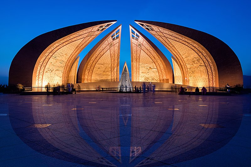 File:Blue Hour at Pakistan Monument.jpg