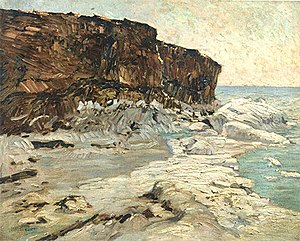 Charles Rosen (painter) - Image: Bluff Point, Charles Rosen