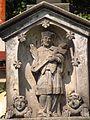 Boží muka se sochou svatého Jana Nepomuckého, v zahradě čp. 46 (4).jpg