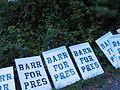 Bob Barr presidential campaign, 2008 (2958565968).jpg
