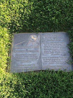 Bob Kane - Grave of Bob Kane, at Forest Lawn Hollywood Hills