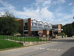 Bodington Hall - Main administrative block with reception, dining hall etc.