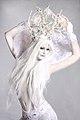 Bodypainted Snow Queen (10508937386).jpg