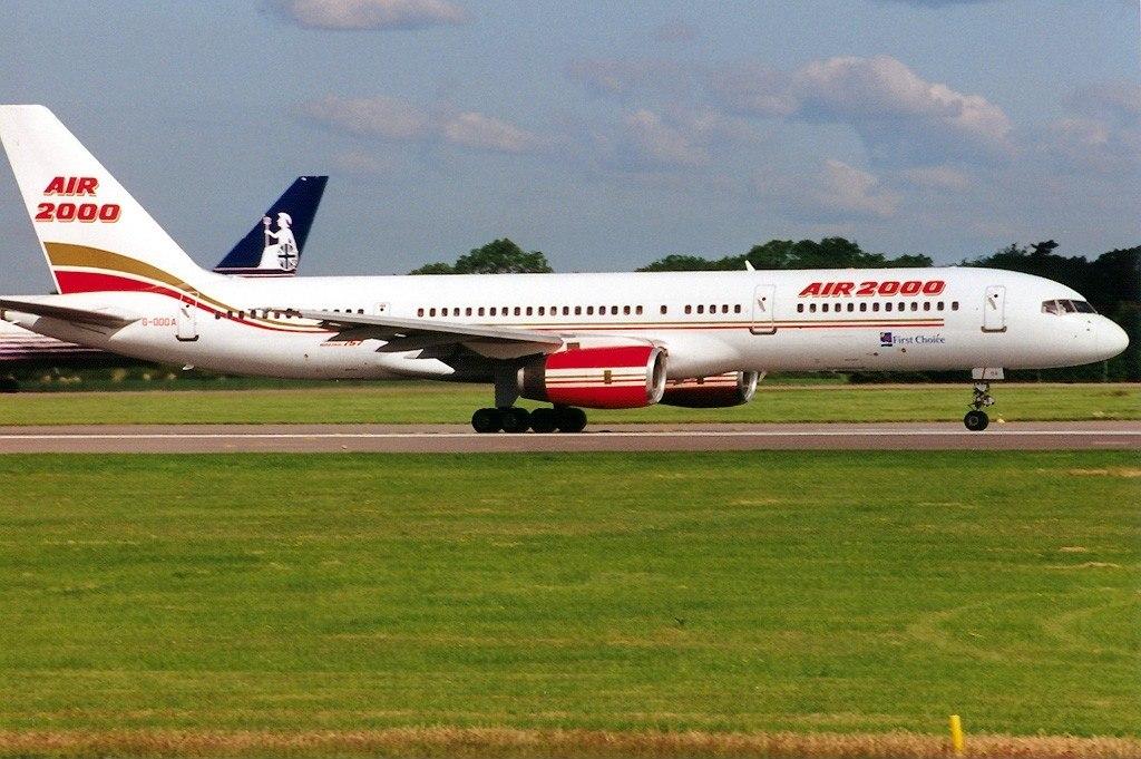 Boeing 757-28A, Air 2000 AN0216714