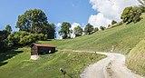 Boerenschuren tussen Waltensburg-Vuorz en Breil-Brigels. (d.j.b.) 01.jpg