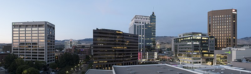 File:Boise Downtown Panoramic.jpg