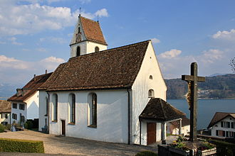 Bollingen - St. Pankratius church in Unterbollingen