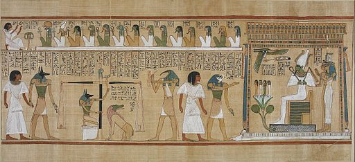 Book of the Dead of Hunefer sheet 3