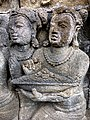 Borobudur - Divyavadana - 085 N, A Stupa is raised over Ven Mahakatyayana's Staff (detail 3) (11705748915).jpg