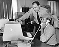 Boston Police staff working at computer (10086196513).jpg