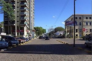 {{pt|Vista da cidade de Botucatu (avenida D.