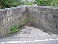 Boundary inscription on Garstang Bridge - geograph.org.uk - 435670.jpg