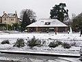 Bounemouth, snow sculpting in Knyveton Gardens - geograph.org.uk - 1150509.jpg