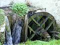 Boussac (Creuse) - Moulin sur la rivière Beroux - Roue.JPG