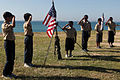 Boy Scouts Ryukyu Rendezvous at Kin Blue Beach Oct 29 2011.jpg