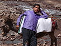 Boy with Donkey - Outside Gazor Khan - Northwestern Iran (7387518420).jpg