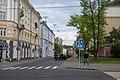 Braniavy Lane (Minsk, Belarus) — Завулак Бранявы (Мінск, Беларусь) — Переулок Броневой (Минск, Беларусь).jpg