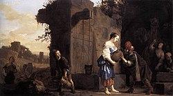 Salomon de Bray: Eliezer and Rebecca