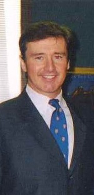 Brian Higgins - Brian Higgins at his New York State Assembly Office in Albany, New York, February 2000