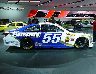 Aaron's, Inc. - The Aaron's-sponsored No. 55 Toyota Camry of MWR