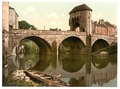 Bridge over the Monnow, Monmouth, Wales-LCCN2002697075.tif