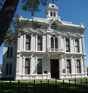 Mono County Courthouse - Image: Bridgeport, California Historic Court House, Main Street August 2012