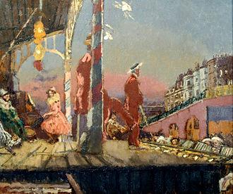 Ashmolean Museum - Image: Brighton Pierrots Walter Sickert
